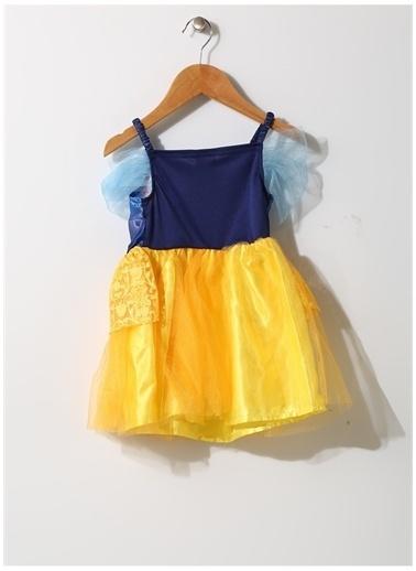 Sunman Sunman Oyuncak Dünyası Renkli Kız Bebek Pamuk Prenses Kostümü Renkli